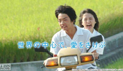 大ヒット映画『世界の中心で、愛をさけぶ』の感動を振り返る名言・名シーン特集!