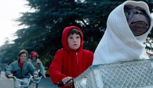 映画『E.T.』の名言集 ! 少年の喪失感を癒す迷子の宇宙人