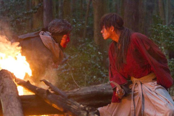 映画『るろうに剣心』 剣心と刃衛の最後の戦い