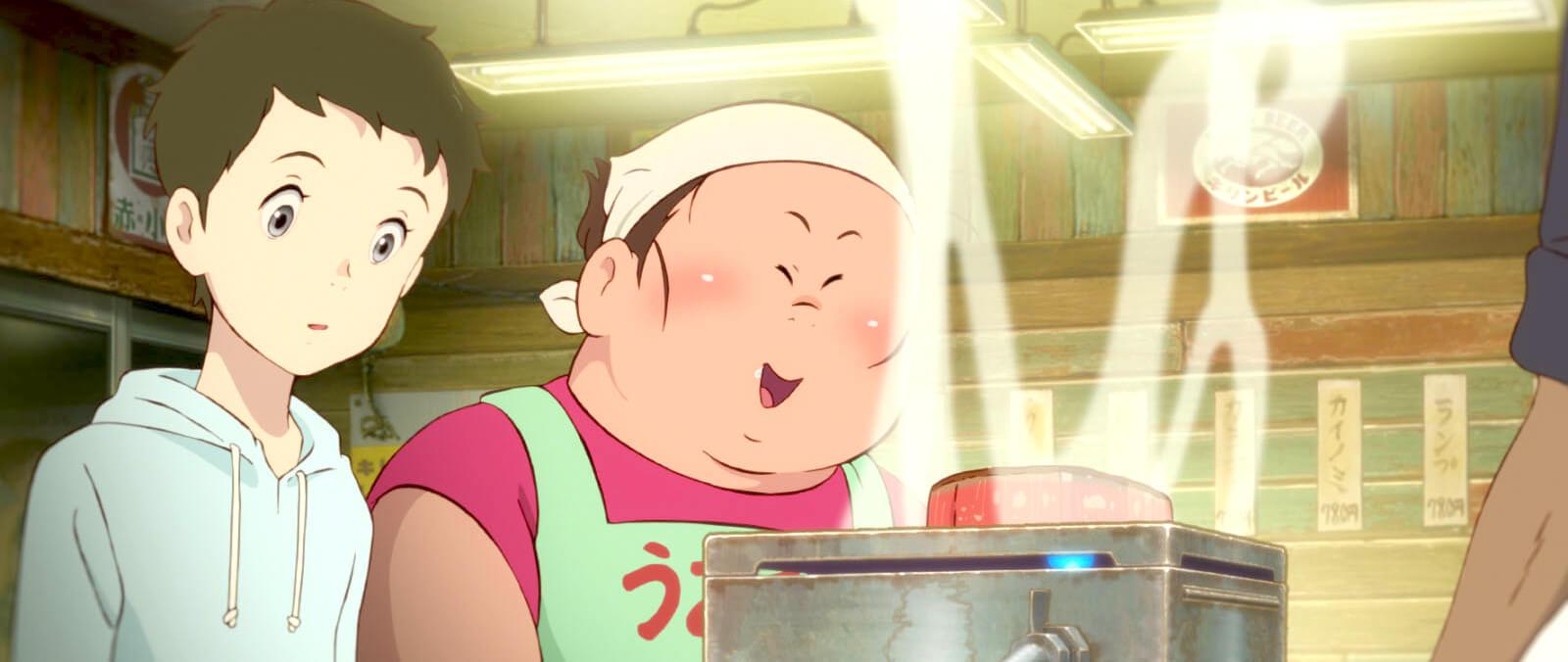 映画『漁港の肉子ちゃん』ニクコとキクコ