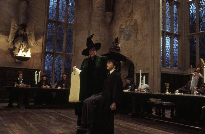 ハリー・ポッター 組分け帽子